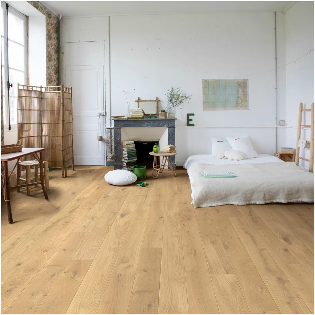 Quick step compact eik vernis country ruw extra mat - Pavimenti per camere da letto ...